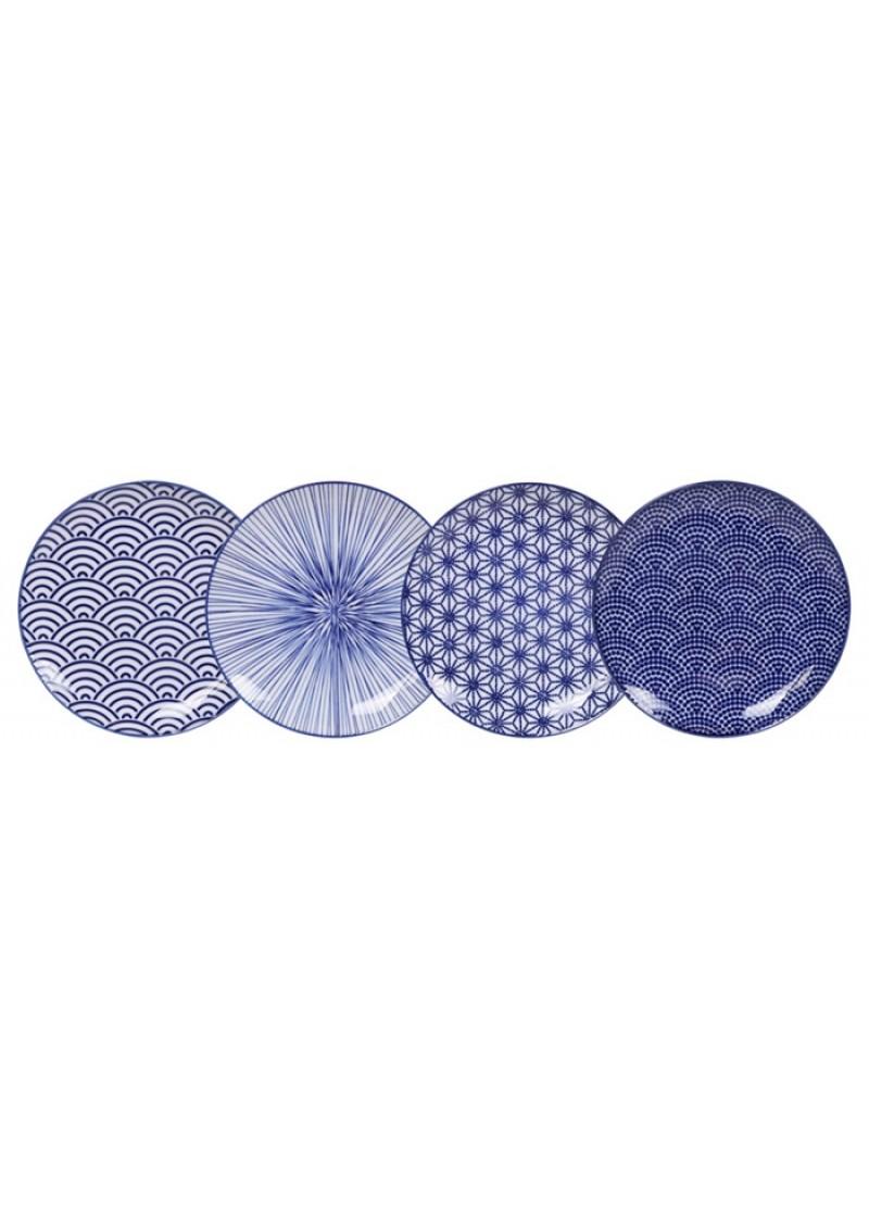 Tanjur Nippon Blue, 25 cm
