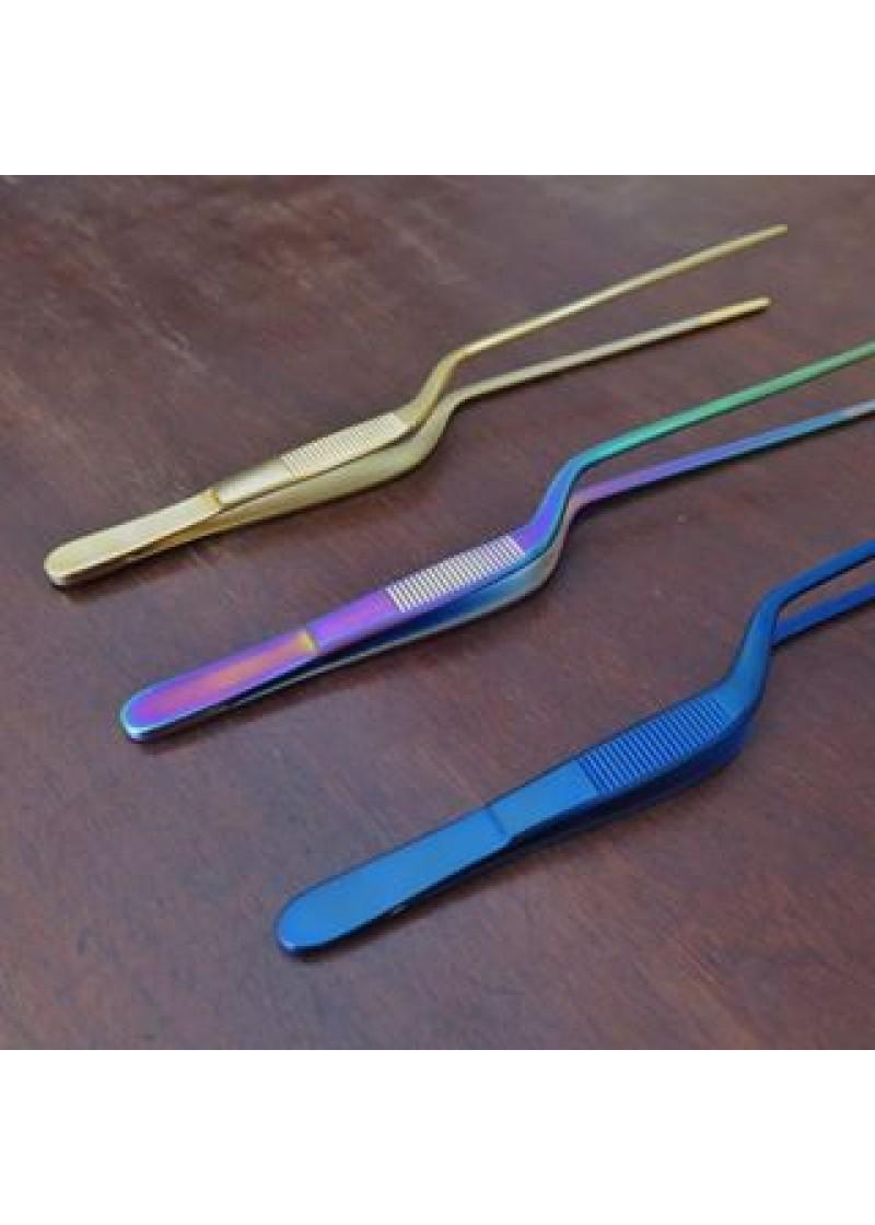 Pinceta 20 cm, neon blue