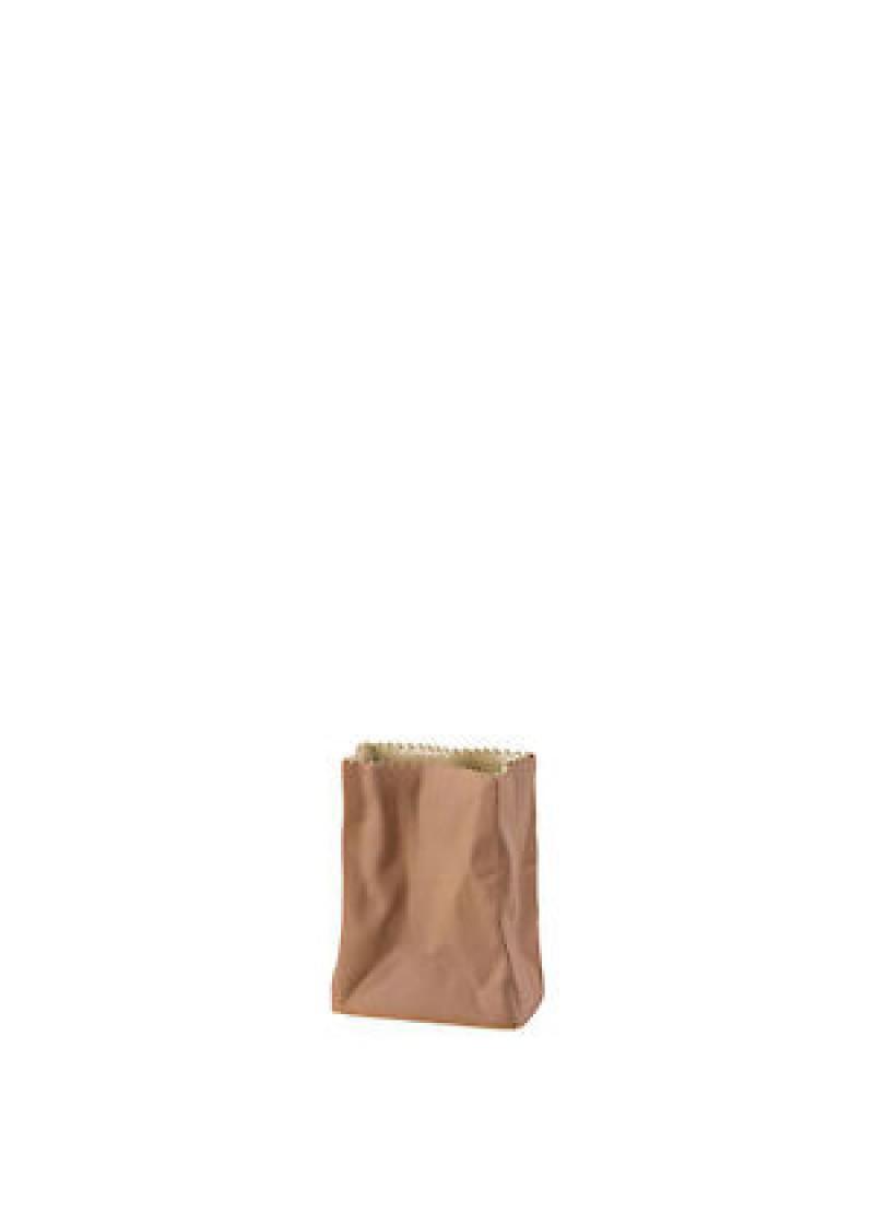 Vaza Tuten 10 cm, smeđa
