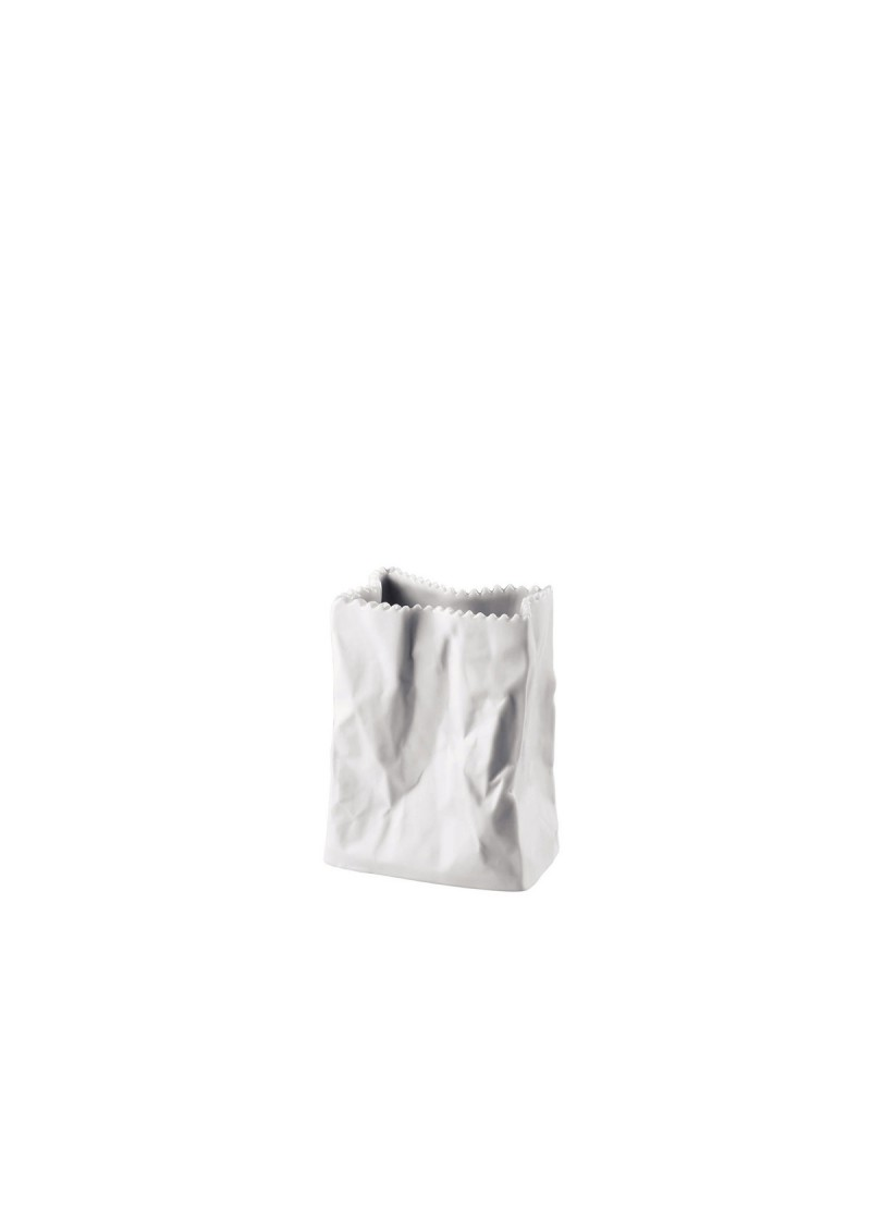 Vaza Tuten 10 cm, bijela matt