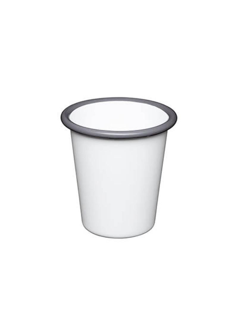 Čaša emajl, bijela