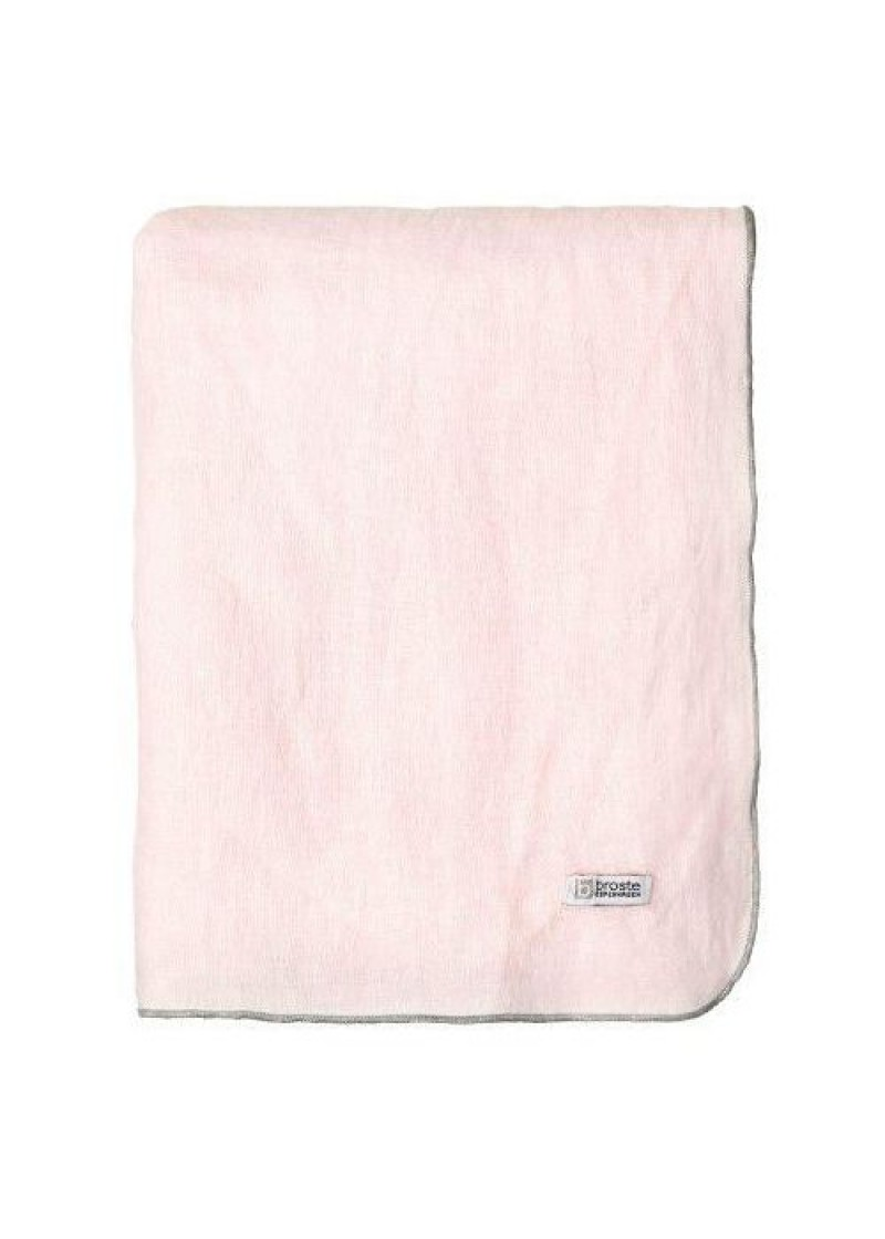 Stolnjak lan 160x200, roza