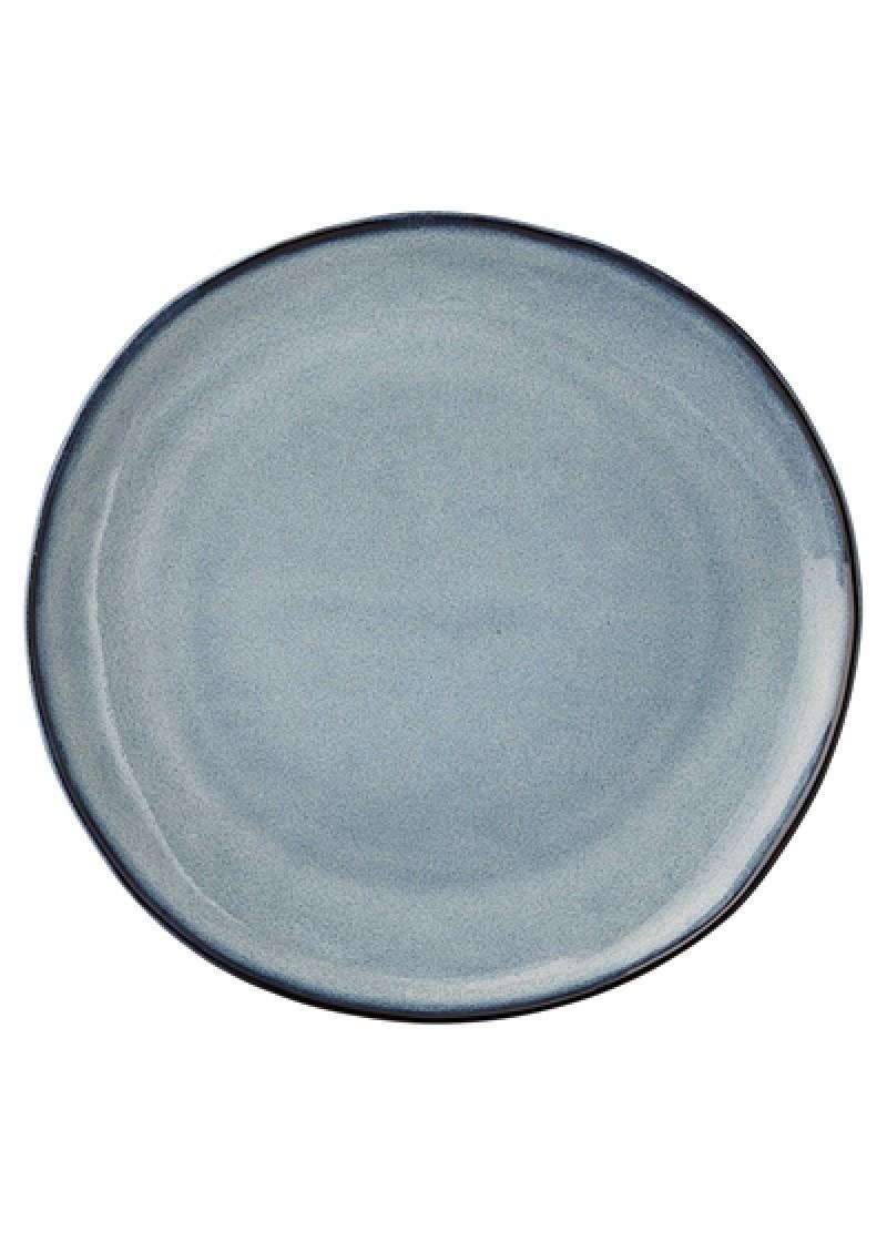 Tanjur Sandrine 22 cm, plavi