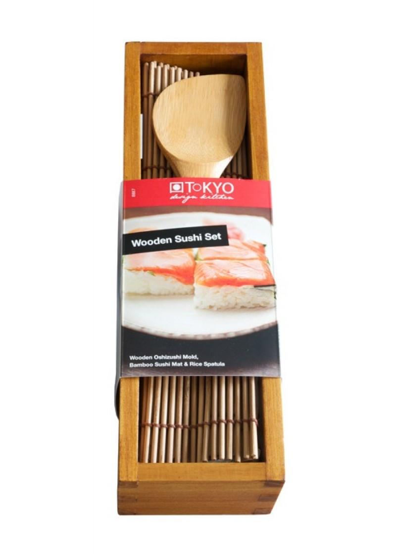 Sushi set Bambus