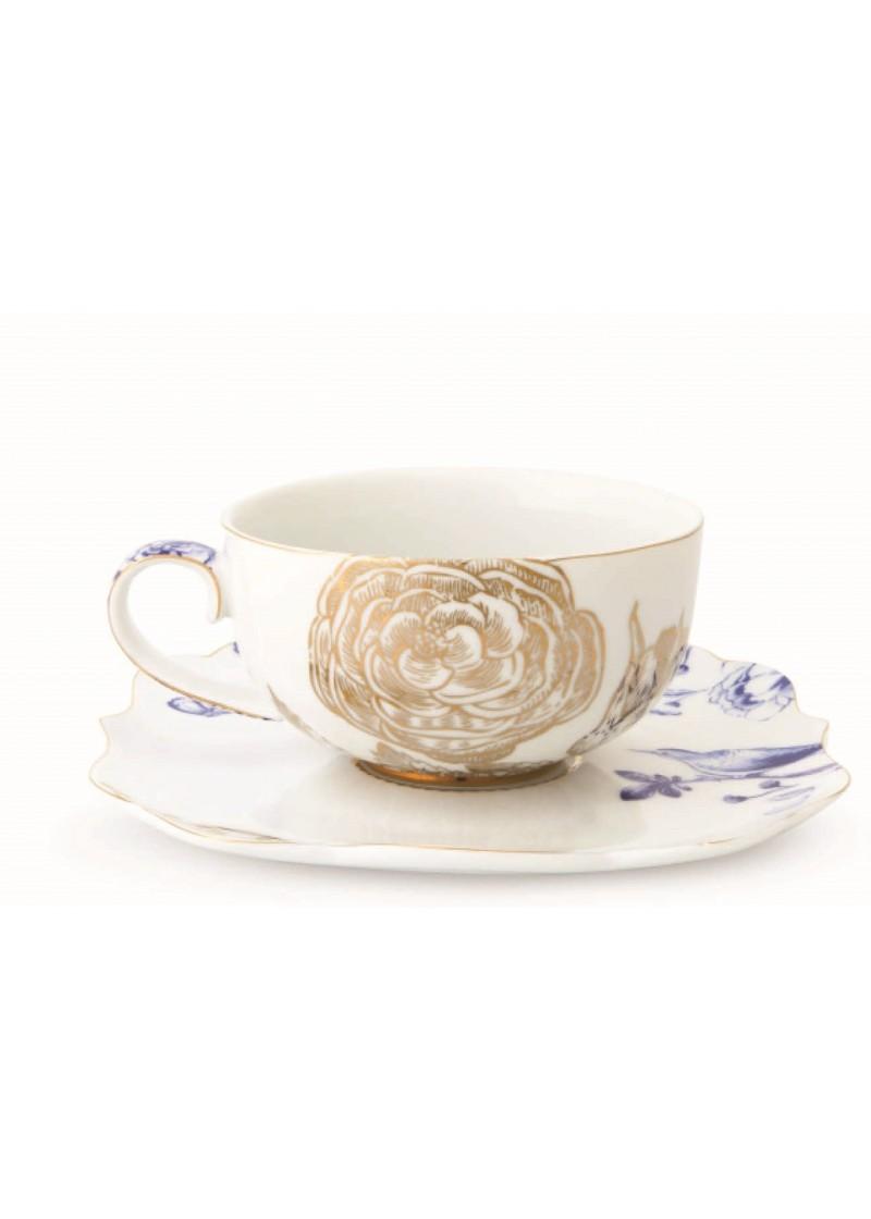 Cappuccino set Royal white 225