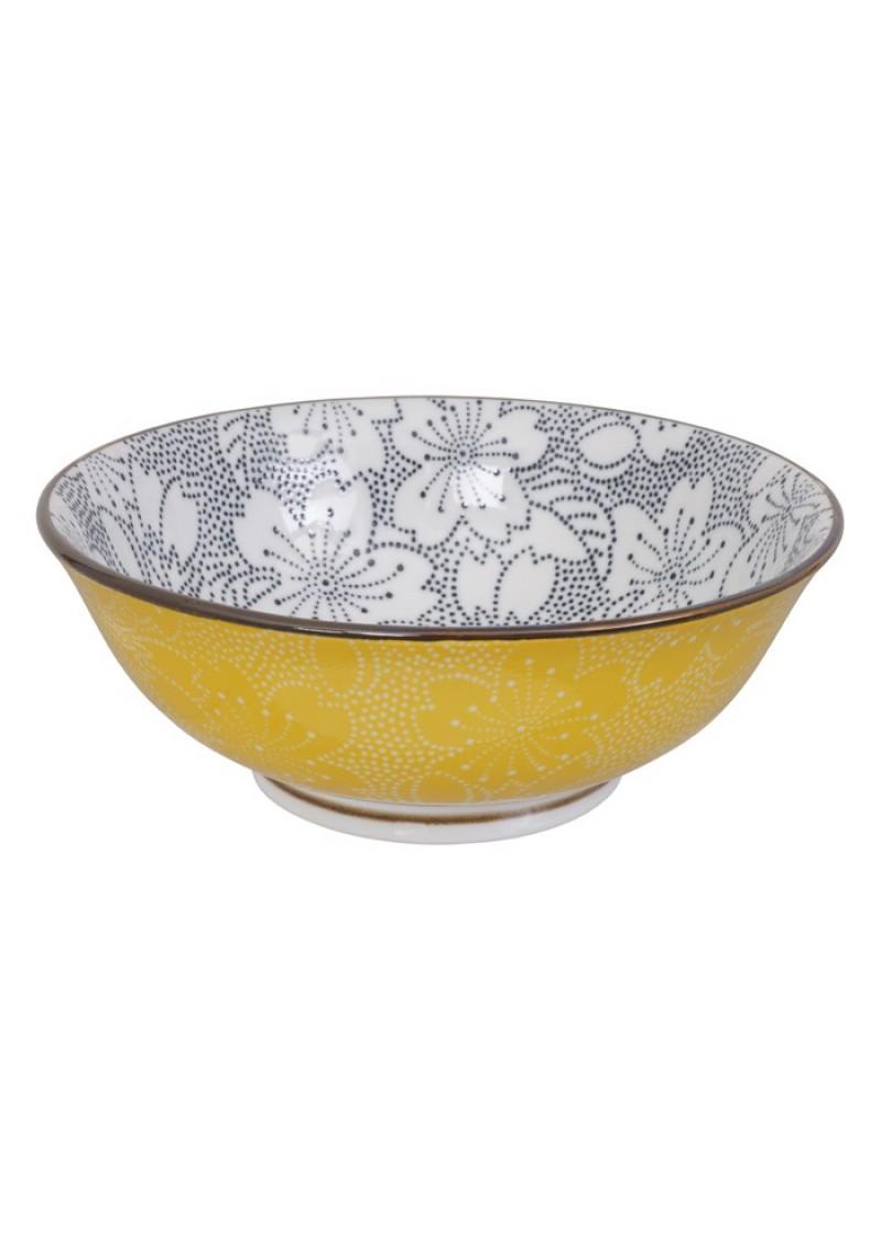 Zdjela Dot, žuta