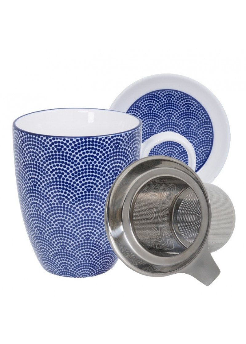 Šalica s cjedilom, Nippon Blue