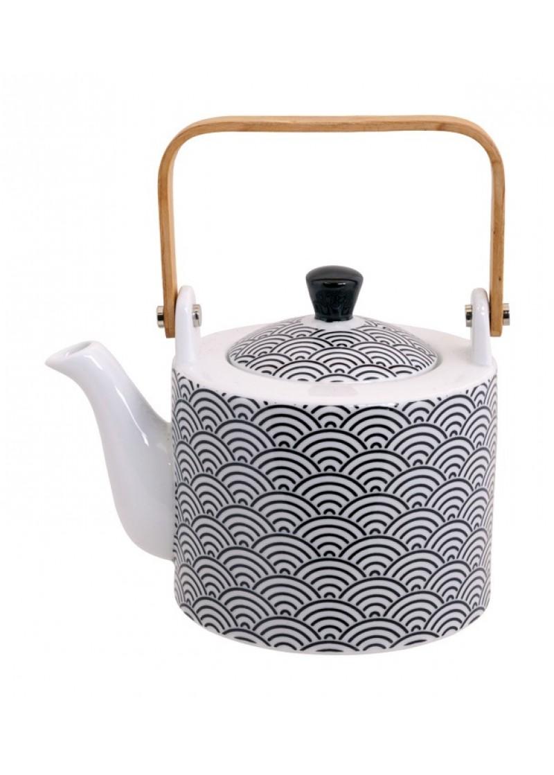 Čajnik Wave Nippon Black
