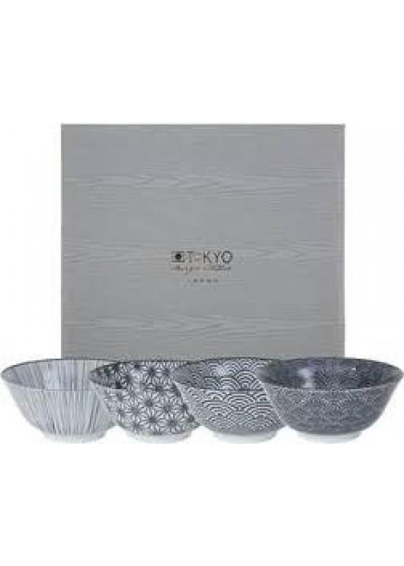 Zdjelice Nippon Black 4/1