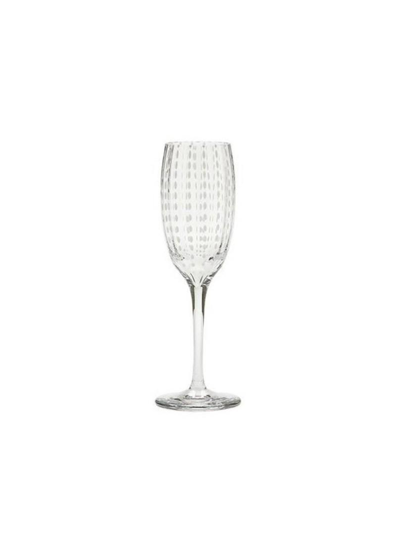 Čaša Perla šampanj, prozirna