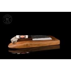 Nož Santoku 170, kuro-uchi