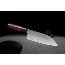 Nož ZDP-189 Santoku Silver 180
