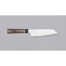 Nož bunka black 16 cm, damask