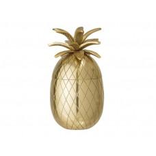 Posuda za led, Ananas zlatna