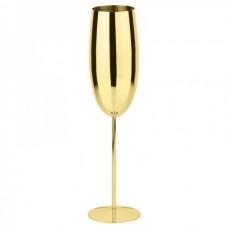 Čaša za šampanjac, zlatna