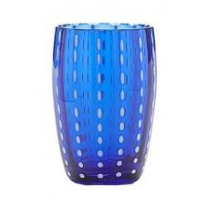 Čaša Perla 32 cl, plava
