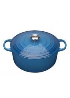 Posuda okrugla 28 cm, plava