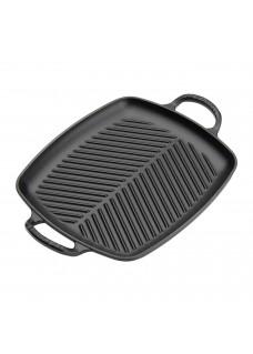 Tava grill 30 cm, crna