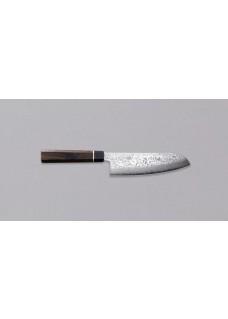 Nož  Black Damascus Santoku 135
