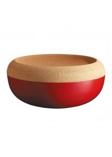 Zdjela za voće i povrće crvena