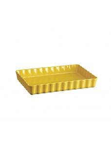 Pekač za tart, žuti 22x30