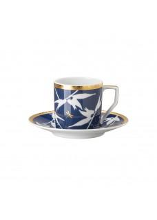 Espresso set Heritage, plavi