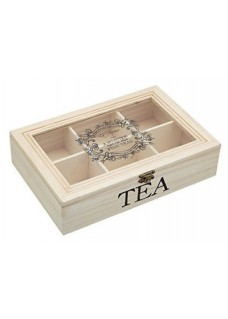 Kutija za čaj, drvena
