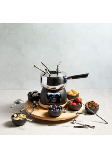 Fondue set, Party