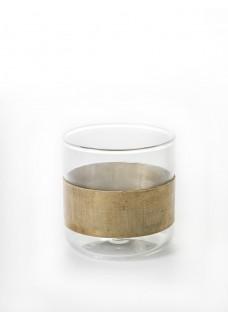 Čaša staklo-bakar