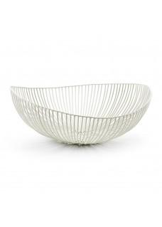 Zdjela za voće ovalna, bijela