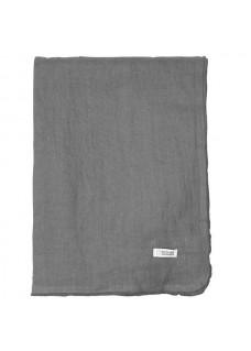 Stolnjak lan 160x200, sivi
