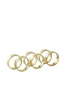 Prsteni za salvete, brass