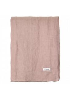 Stolnjak lan 160x300, roza