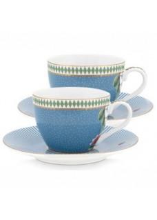 Espresso set La Majorelle blue