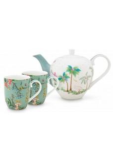 Set za čaj Jolie, blue