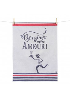 Kuhinjsk krpa Bonjour Amour