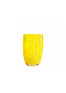 Čaša Perla 32 cl, žuta