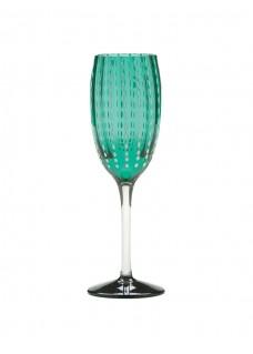 Čaša Perla šampanj, tirkiz